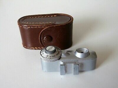 Vintage Photopia Rangefinder Shoe Mount with Leather Case