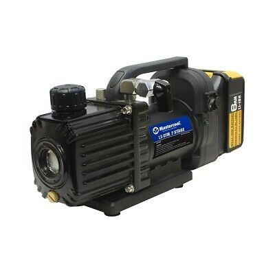 Cordless 1.5CFM 2 stage vacuum pump with battery Mastercool 90058
