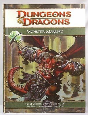 Dungeons & Dragons Monster Manual: Roleplaying Game Core Rules, 4th Edition Jame