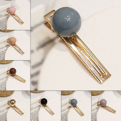 Hair clip Hairpin Ladies Small Accessories Color ball Vintage Barrette Wedding