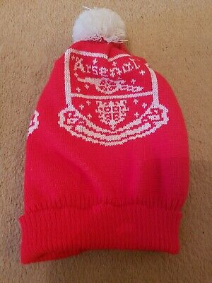 Arsenal Hat knitted Vintage Retro 80s