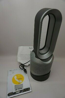 Dyson Pure Hot + Cool, HP01 HEPA Air Purifier, Space Heater and Fan Iron Silver