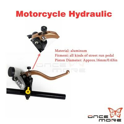 "Motorcycle Brake clutch level 7/8 "" 22.2mm handlebar scooters Fit Motorcycle ATV"