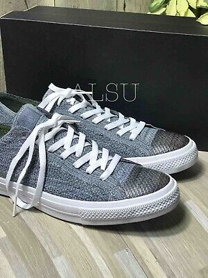 Sneakers Men's Converse Ctas x Nike Flyknit Low Top Black Light Carbon Grey