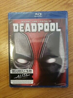 Deadpool ( Blu-ray, DVD, Digital HD)
