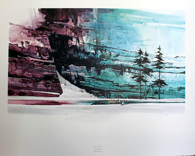 MIKE MICHAEL ATKINSON 'Three Sentinels' signed Limited Edition Print # 305/1027!