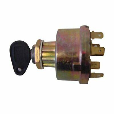 Ignition Key Switch - 7 Terminal Ford 7610 2000 5610 4110 6610 4000 New Holland