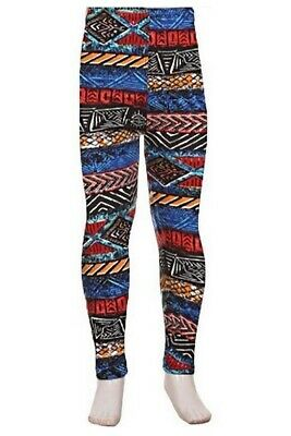 Blue Lagoon Amazing Buttery Soft Leggings Kid's S/M & L/XL