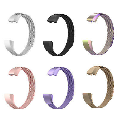 For Fitbit Alta/Alta HR Band Strap Stainless Magnetic Wristband Bracelet MA