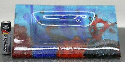 Superb Vintage Nautical Art Glass Plate Signed & Numbered