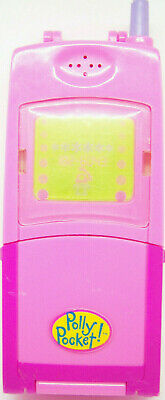 Polly Pocket vintage mobile telephone complete set w dolls Bluebird Toys  works!