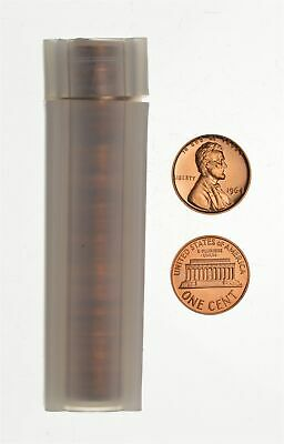 PROOF - 1964 - Lincoln Memorial Cent - Roll of 50 Coins - Solid Date - Lot *752