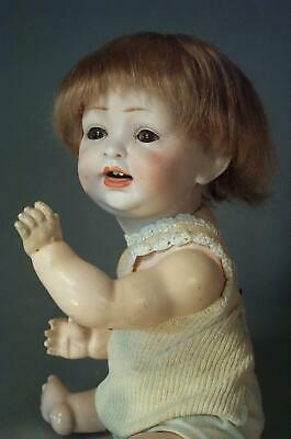 Antique Hertel Schwab German Character Baby #152 All Original A Cutie! 11 in