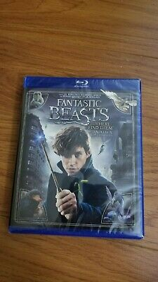 Fantastic Beasts and Where To Find Them (Bilingual) [Blu-Ray] *NEW**