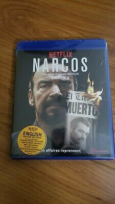 BRAND NEW Narcos The Complete Season 3 (Blu Ray)
