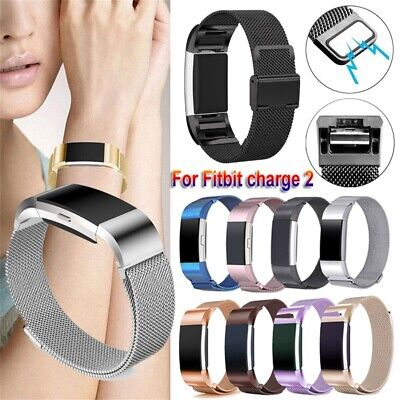 Bracelet Strap Magnetic Wristbands Milanese Watch Band For Fitbit Charge 2