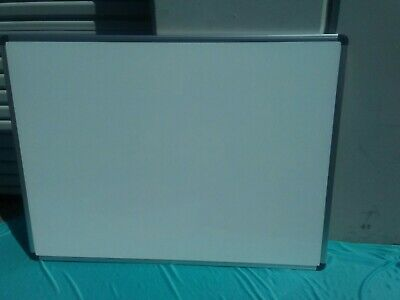 "Single Side Magnetic Writing White Board 36"" x 48"" Office School Dry Erase"