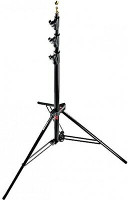Manfrotto Alu Master Air Cushioned Light Stand Quick Stack 3-Pack (Black, 12')