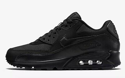 """Nike Air Max 90 """"Triple Black"""" Men's All Sizes Limited Sizes 6 - 17"""