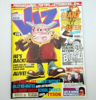 Viz Comic Magazine Number 115 June 2002 Collectable Adult Humour Very Good *