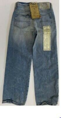 Boys jeans denim Designer  4 5 6 7 8 12 years RRP $39.50 distressed