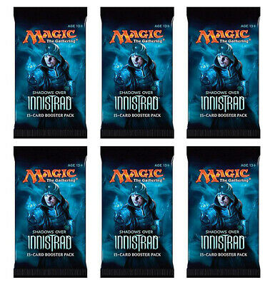 Six (6) Shadows over Innistrad | Booster Packs Pack 1/6 Booster Box | Magic MTG