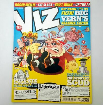 Viz Comic Magazine Number 126 Summer 2003 Collectable Adult Humour Humor UK *