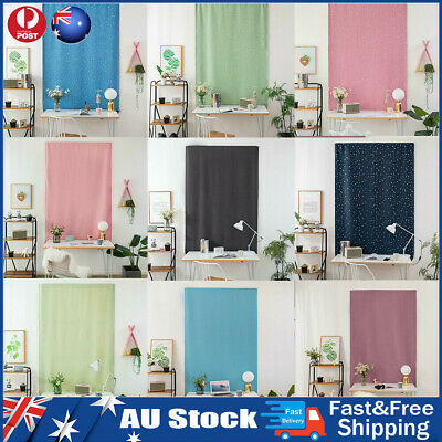 Self-Adhesive Blinds Blackout Drapes Window Curtains Bedroom Shades Living Room