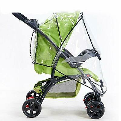 2019 Rain Cover Universal Waterproof Wind Dust Shield Zipper for Baby Strollers