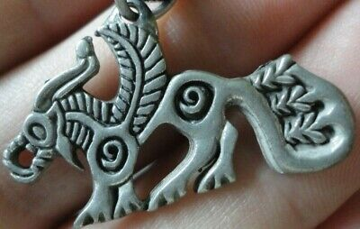 Ancient Viking Celtic Norse Pendant Amulet inscribed symbols Wearable AMAZING
