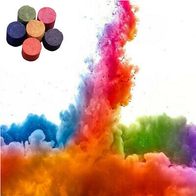 1Pc Colorful Smoke-Effect Cake Props Round Bomb Stage Photography Party Film Aid