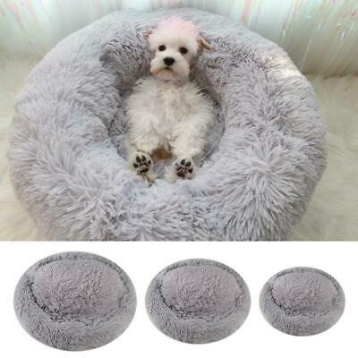 Round Lounger Pet Cushion Dog Bed For  Dog & Cat Winter Kennel Mat Puppy Bedding