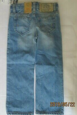 Boys jeans denim Designer age 2 3 4 5 6 7 8 9 10 years light wash RRP $39
