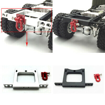 Upgrade Metal Front/Rear Bumper Modified Accessories DIY Kit for WPL 1/16 B14