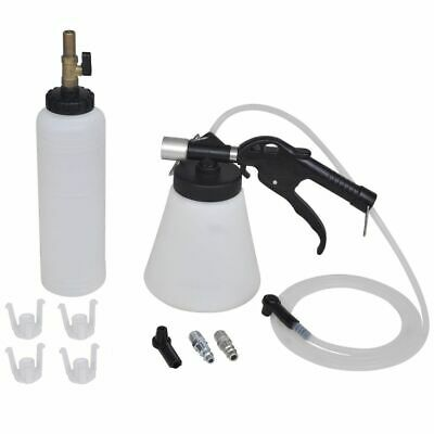 New Air Brake Bleeder Kit Clutch Vacuum Bleeding Extractor Fluid Fill Adapters
