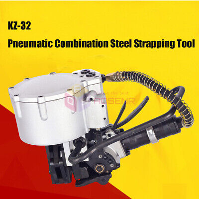 KZ-32 Pneumatic Combination Steel Strapping Tool Metal Packing Machine for 32mm