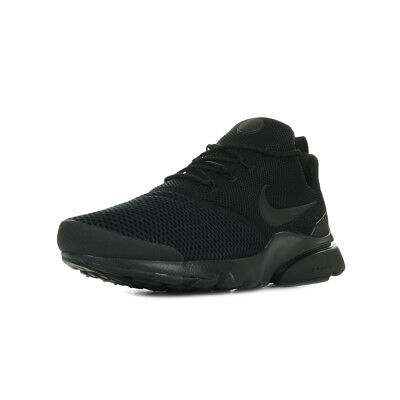 CHAUSSURES BASKETS NIKE homme Air Presto Fly Se taille Rouge Textile Lacets