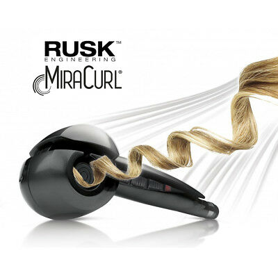 Rusk MIRACURL Hair Curler Professional Ceramic Curl Chamber Original New in SU