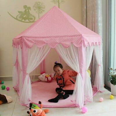 Indoor/ Outdoor Princess Castle Play House Children Kids Play Tent Toy for Girls