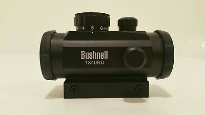 Bushnell 1x40RD Red Dot Holographic Optics Sight Scope