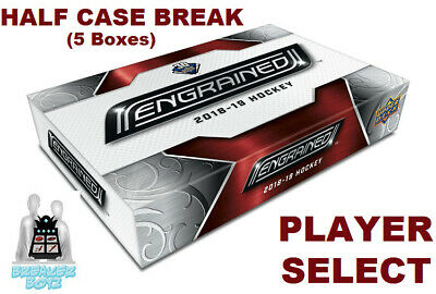 JUSSO VALIMAKI RC 2018-19 Upper Deck ENGRAINED 5 Box Break Calgary Flames Rookie