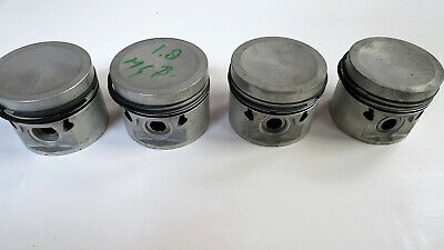NOS MG-B Engine Pistons, set of 4 with rings, BMC B-engine 1.798CC STD-size