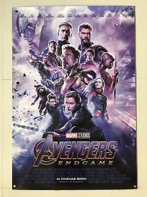 *Ultra Rare* Avengers End Game | original DS one sheet movie poster 27x40 INTL
