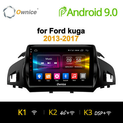 Android 9 4/8Core Autoradio Navigatore Sat Gps For Ford Kuga 2013-2017