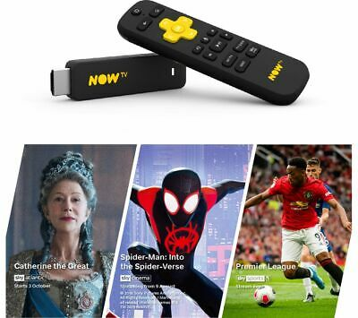NOW TV Smart Stick with 1 Month Cinema, Entertainment & Sports Pass - Currys