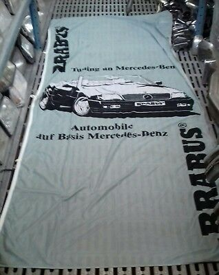 Housse Exposition Brabus Mercedes R129 Tuning Official Original 340x150