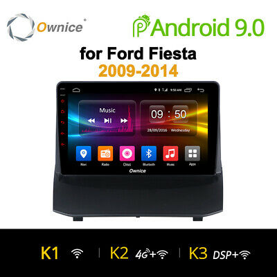 Android 9 4/8Core Autoradio Navigatore Sat Gps For Ford Fiesta 2009-2014
