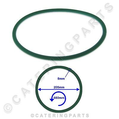 PIZZA GROUP 5070050 680mm LONG GREEN RUBBER DRIVE BELT DOUGH ROLLER STRETCHER