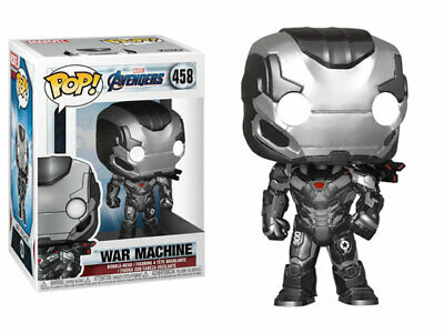 "Funko Toys PoP Marvel Avengers Endgame War Machine 4"" Figure #458 NIB"