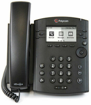 Polycom VVX 300 IP Business Phone with Power Adapter.  Lightly used.